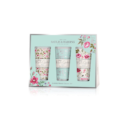 BAYLIS & HARDING ROYALE GARDEN ROSE POPPY & VANILLA ASS HANDCREAM SET
