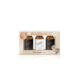 BAYLIS & HARDING THE FUZZY DUCK MEN'S GINGER & LIME TRIO SET
