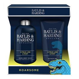 BAYLIS & HARDING MEN CITRUS LIME & MINT 2 PIECE SET