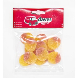 DAVES SWEETS BAGS PEACHES