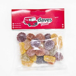 DAVES SWEETS BAGS SOUR APPLES
