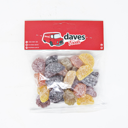 DAVES SWEETS BAGS FRUIT PASTILLES