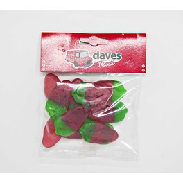 DAVES SWEETS BAGS GIANT STRAWBERRIES