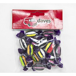 DAVES SWEETS BAGS LIQUORICE ASSORTMEMNT TWIST