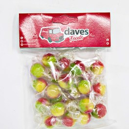 DAVES SWEETS BAGS ROSEY APPLES