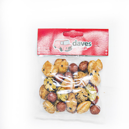 DAVES SNACKS BAGS BOLLEN PEANUT KING MIX