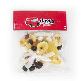 DAVES SNACKS BAGS FRUIT MIX WITH CRANBERRY