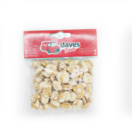 DAVES SNACKS BAGS GARLIC BROAD BEANS