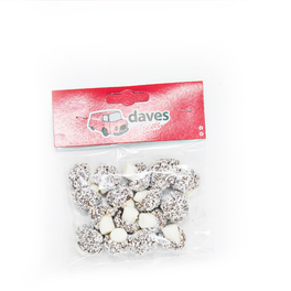 DAVES SWEETS BAGS MUSHROOMS WITH COCONUT