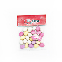 DAVES SWEETS BAGS SUGARED ALMONDS (PERLINI)