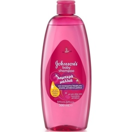 JOHNSON & JOHNSON KIDS SHAMPOO SHINY DROPS 500ml
