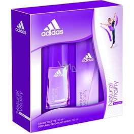 ADIDAS NATURAL VITALITY EDT +BS+BAG