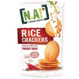 NATURE ADDICTS RICE CRACKERS SWEET CHILLI 70G