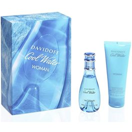 DAVIDOFF COOL WATER WOMAN GS20 EDT 30ML+ BODY LOTION 75ML
