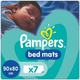 PAMPERS BED MATS COMPACT BAG x7