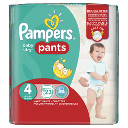 PAMPERS CP PANTS 4 MAXI X23