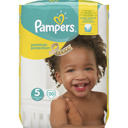PAMPERS CP NEW BABY 5 JUNIOR X20 (NEW)