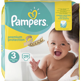 PAMPERS CP NEW BABY 3 MIDI X29 (YELLOW PK)