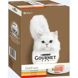 GOURMET GOLD MOUSE MV O FISH 8x85G