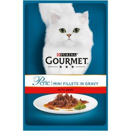 GOURMET PERLE GIG GRILLED BEEF 85G