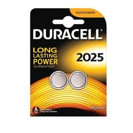 DURACELL SPEC LITHIUM COIN CELL BATTERY 2025 x2s