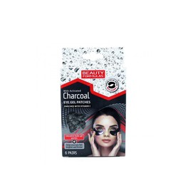 BEAUTY FORMULAS CHARCOAL EYE PATCHES x6