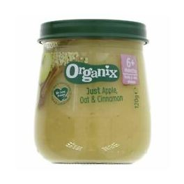 ORGANIX STAGE 1 6M OAT APPLE & CINNAMON JAR 120GRS