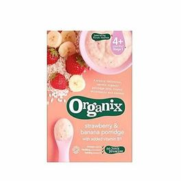 ORGANIX STAGE 1 6M+ STRAWBERRY-BANANA PORRIDGE