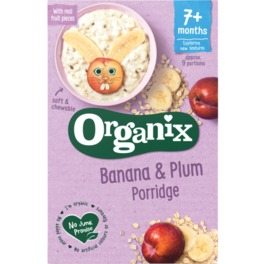 ORGANIX STAGE 2 7M+ CEREALS BANANA-PLUM PORRIDGE