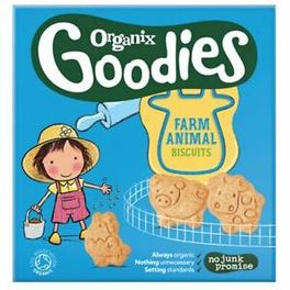 ORGANIX TODDLER 12M+ BISCUITS ANIMAL