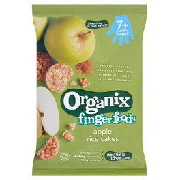 ORGANIX STAGE 2 7M+ RICE CAKES APPLE