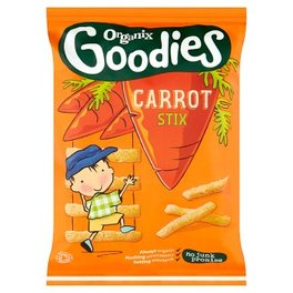 ORGANIX TODDLER 12M+ SNACKS CARROT STIX