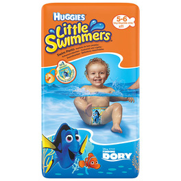 HUGGIES LITTLE SWIMMERS (5-6) 12-18KG