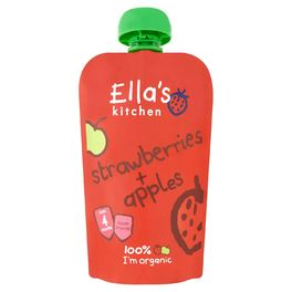 ELLAS STAGE 1 STRAWBERRY & APPLES