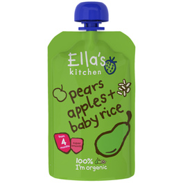 ELLAS STAGE 1 PEARS & APPLES 120G