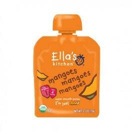 ELLAS FIRST TASTE MANGOES 70G