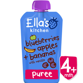 ELLAS STAGE 1 4M+ BLUEBERRIES APPLES BANANA VANILLA
