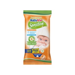 BABYLINO WIPES SENS MINI x 10 (2+1FREE)