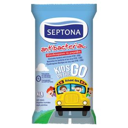 SEPTONA WIPES ANTI BACTERIAL KIDS 15PC