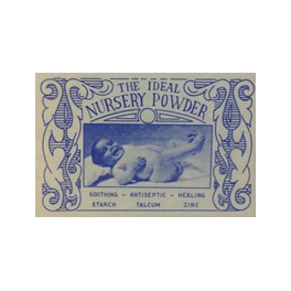 123 NURSERY BABY TALCUM POWDER 50G