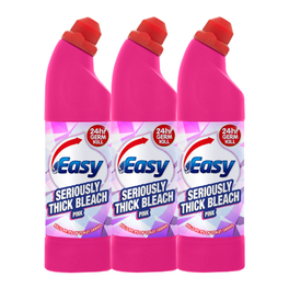EASY THICK BLEACH PINK 750MLx3PK (2+1 FREE)