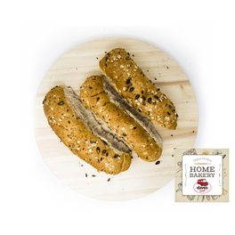 DAVES BAKERY WHOLEMEAL ROLLS x5