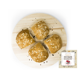 DAVES BAKERY WHOLEMEAL BUNS x4