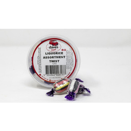 DAVES SWEETS BOWLS LIQUORICE ASSORTMEMNT TWIST 120G
