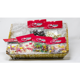 DAVES HAMPER VARIETY OF SWEETS + GIFT