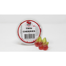 DAVES SWEETS BOWLS TWIN CHERRIES 170G