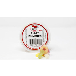 DAVES SWEETS BOWLS FIZZY DUMMIES 115G