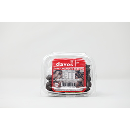 DAVES CHOCOLATE BUTTONS (DARK) BOWLS 150G