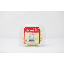 DAVES CHOCOLATE BUTTONS (WHITE) BOWLS 150G