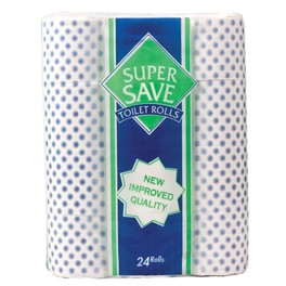 SUPERSAVE TOILET PAPER x24 (21+3 FREE)